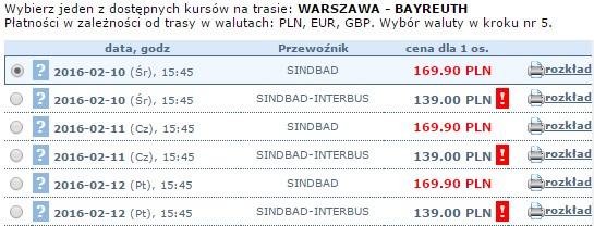 autokary z warszawy do bayreuth